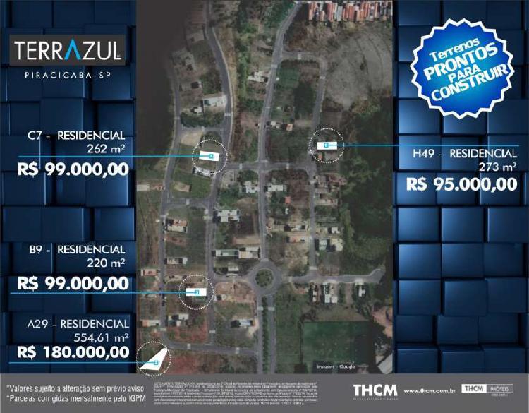 Lote/Terreno para venda possui 220 metros quadrados em