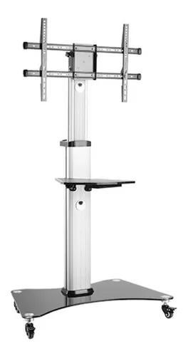 Pedestal De Chão Aluminio Para Tv 37 A 70 Fs07-46 Lumi