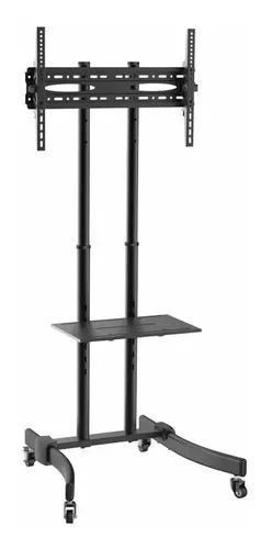 Pedestal Suporte Rack De Chão Tv 37 A 70 Pol - Brasforma