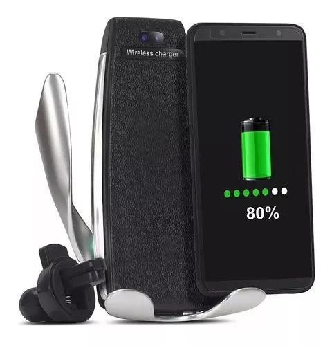 Suporte Celular Para Veículos E Carregador Wireless S