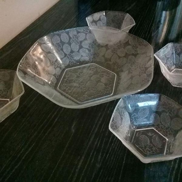jogo de sobremesa 7 peças