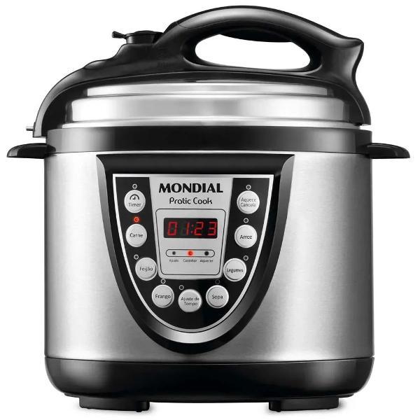 panela elétrica de pressão mondial pratic cook 4l pe-09 -