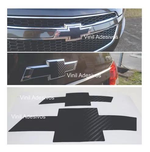 Adesivo Fibra De Carbono Gravata Cruze Sedan 2012 - 2016