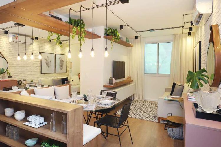 Apartamento para venda possui 43 metros quadrados com 2