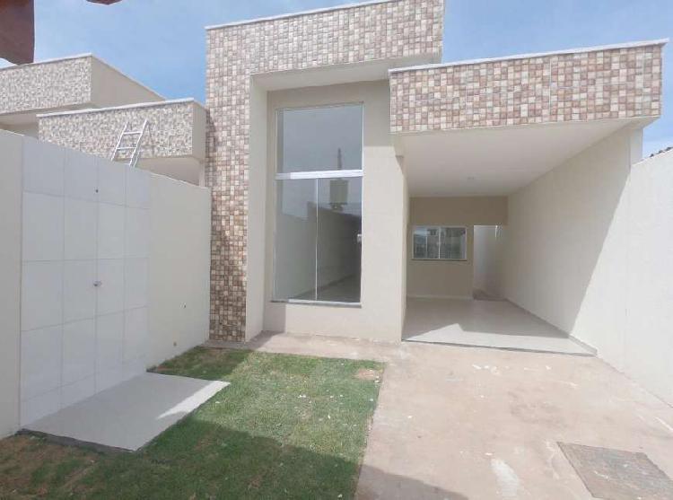 Casa para venda com 112 metros quadrados com 3 quartos em