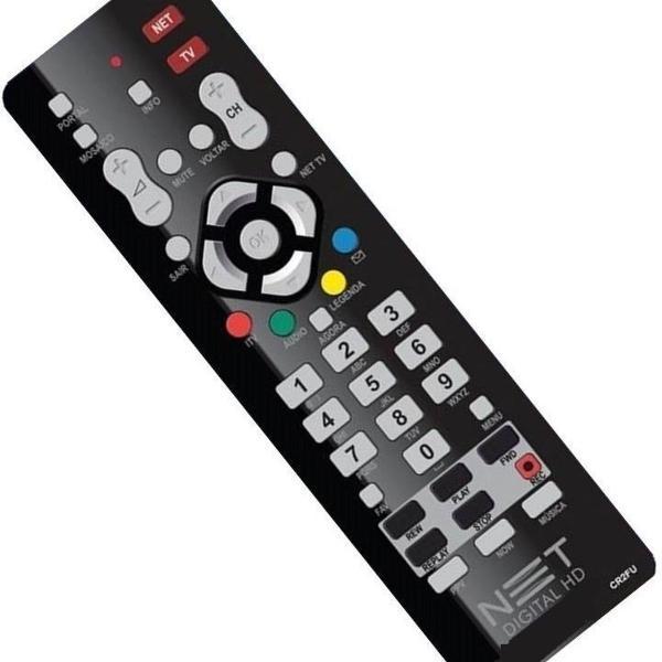Controle Remoto Original Net Digital/universal Net Hd Novo