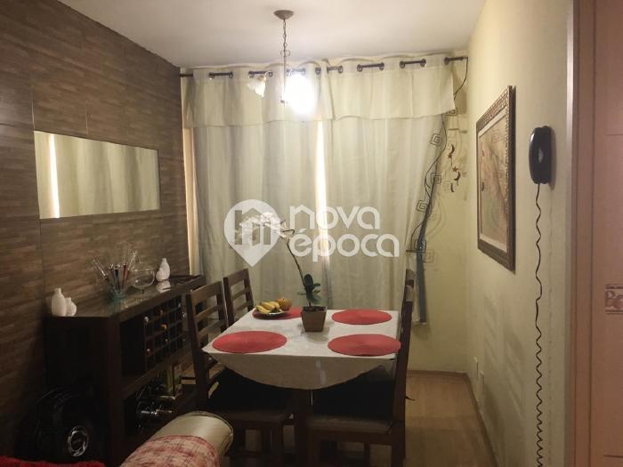 Engenho Novo, 3 quartos, 1 vaga, 55 m² Rua Araújo Leitão,