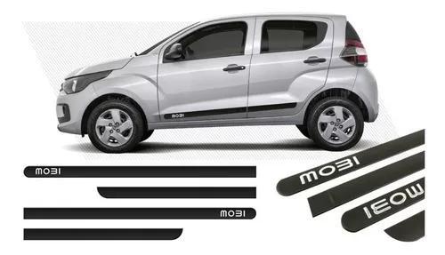 Friso Lateral Borrachão Adesivo Fiat Mobi 16 17 4 Portas