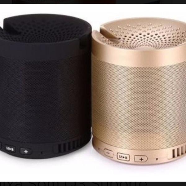 caixa de som q3 bluetooth usb, pb, wireless e rádio fm