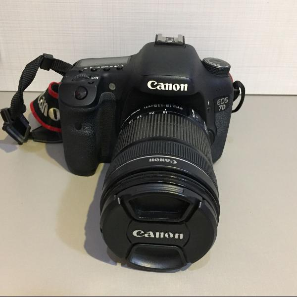 câmera cânon eos 7d