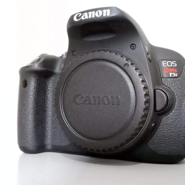 câmera dslr profissional canon eos rebel t5i ( corpo )