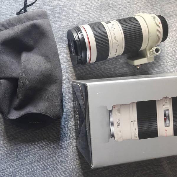 lente canon 70-200 ef f4 usm