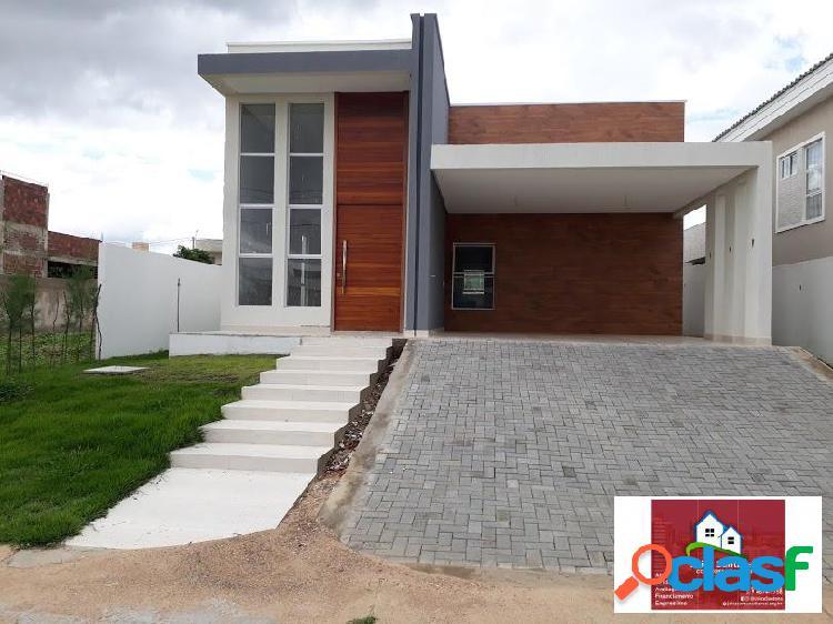 Vende-se linda Casa Pronta para morar no Condomínio