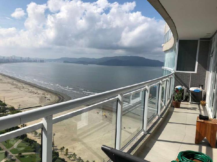 Apartamento 1 dormitório Vista mar - Pompeia - Santos - SP
