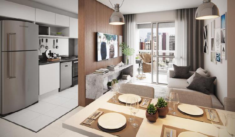 Apartamento para venda com 61 metros quadrados com 2