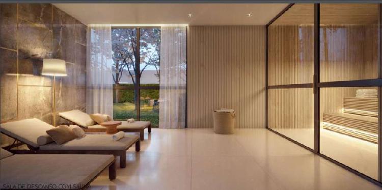 Apartamentos com 173 m², 3 suítes e 2 vagas de garagens -