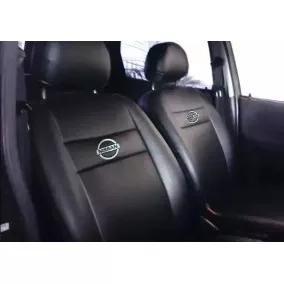 Capa Bancos Automotivo Couro Nissan Frontier 2013 + Brinde