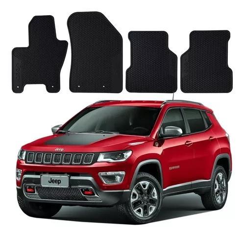 Conjunto Tapete Borracha 4 Peças Jeep Compass 2.0 4x4 2012