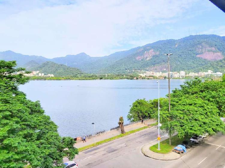 Oportunidade única na Lagoa Rodrigo de Freitas