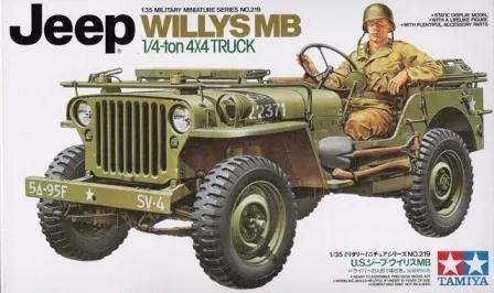 Tamiya #35219 - Jeep Willys Mb 1/4 Ton 4x4 Truck