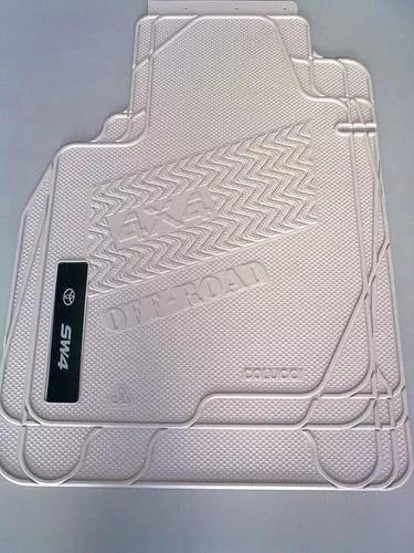 Tapete Toyota Sw4 4x4 - Borracha Pvc - Kit C/ 3 Peças
