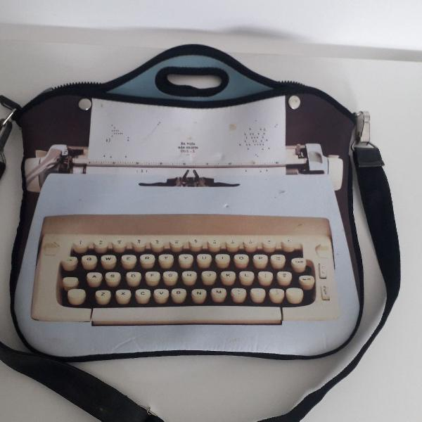 bolsa capa para notebook Imaginarium estampa máquina de