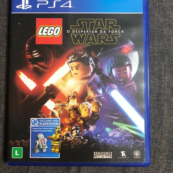 jogo lego star wars ps4 original