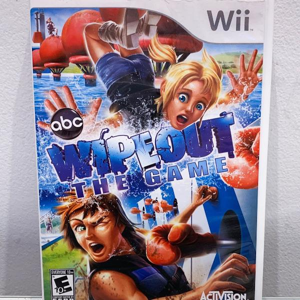 jogo nintendo wii - wipeout the game