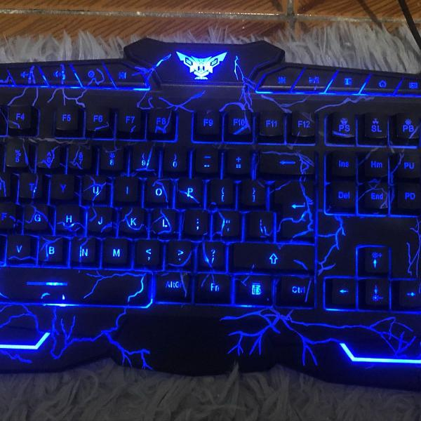 kit teclado + mouse gamer