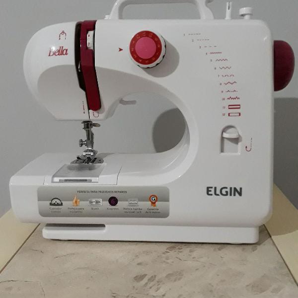 máquina de costura - elgin bella bl 1200