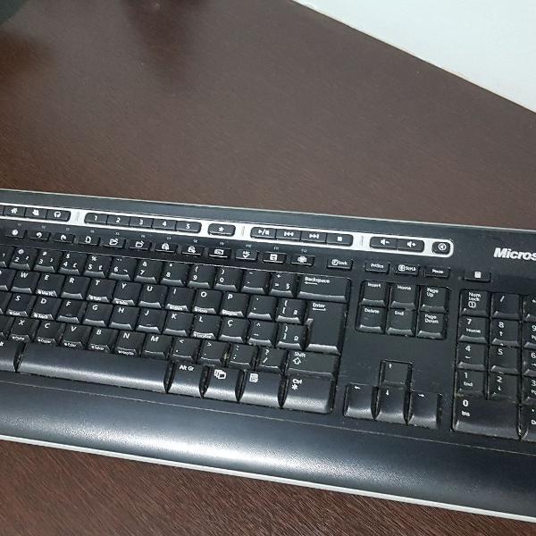teclado Microsoft sem fio