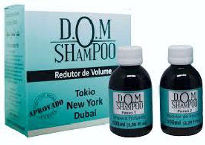 DOM SHAMPOO Alisa os cabelos em casa Fios hidratados Sem