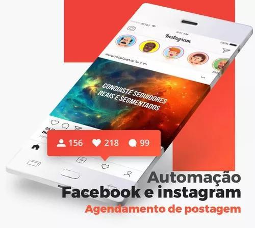Ferramenta Própria Automação Instagram E Facebook