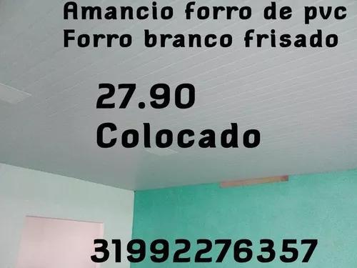 Forro De Pvc 27.90 Colocado