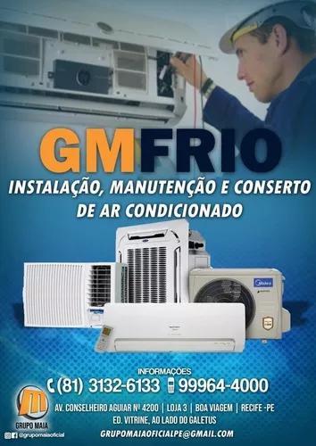 Gm Frio. Instalação,manutenção E Conserto De Ar
