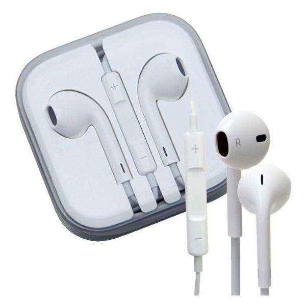 fone de ouvido iphone original c/ controle de volume