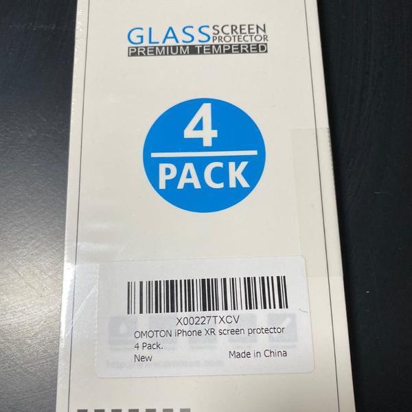 omoton película protetora de tela de vidro temperado iphone
