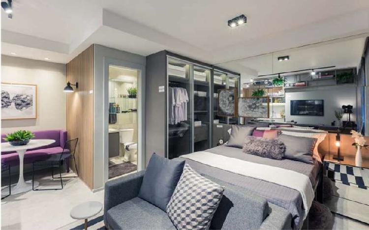 Apartamento para venda possui 32 metros quadrados com 1