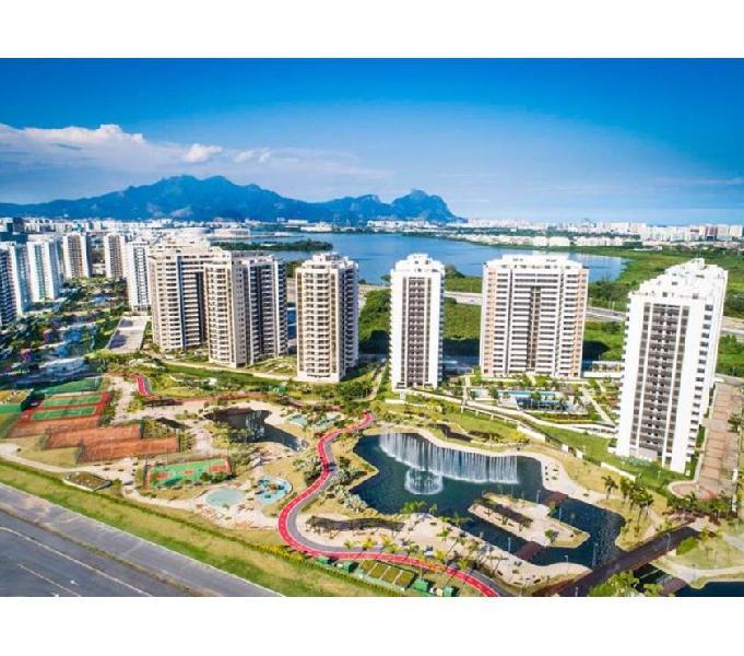 Apartamentos de 3 e 2 quartos na Barra da Tijuca