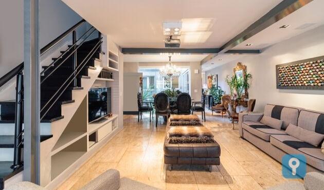 Casa de Vila de Alto Padrão com 3 Suites (170 m²) no Itaim