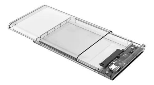 Case P/hd/ssd 25 Usb 3.1 Transparente Orico 2139c3 Type C