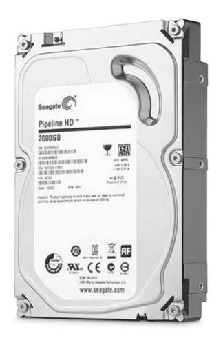 Hd 2tb Sata 3 Seagate 3.5 P/ Dvr Pc Desktop A Pronta Entrega