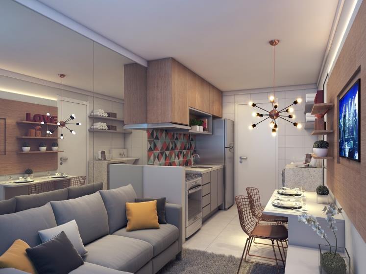 Apartamento na Vila Ema, de 27 a 38 m², com terraço e