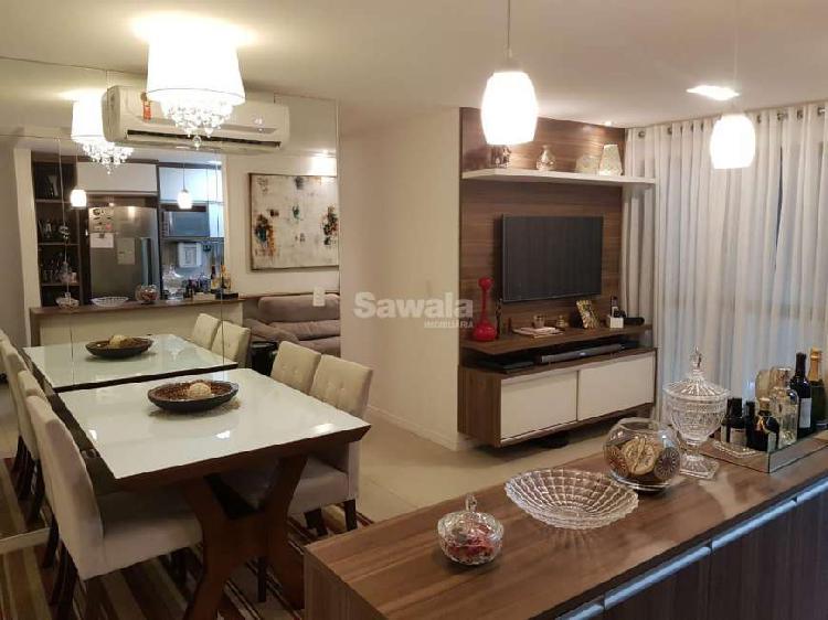 Apartamento no Condomínio Sunset com 3 qts - Barra Bonita -