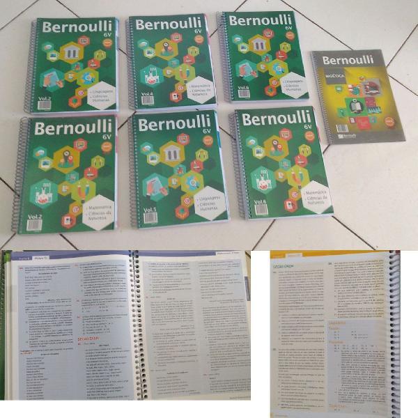 Apostilas Bernoulli nunca usadas