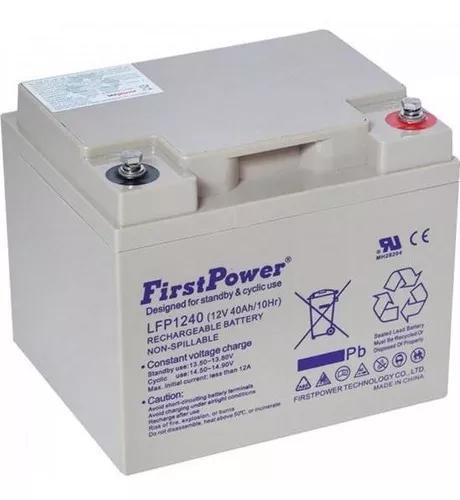 Bateria Selada Lfp1240 Firstpower - Vida Útil 5 A 8 Anos