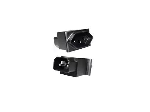 Kit C/2 Adaptadores De Con Iec320 C14 Para Tomada Nbr 14136
