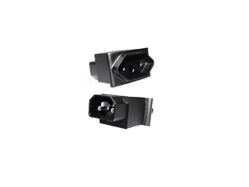 Kit C/3 Adaptadores De Con Iec320 C14 Para Tomada Nbr 14136