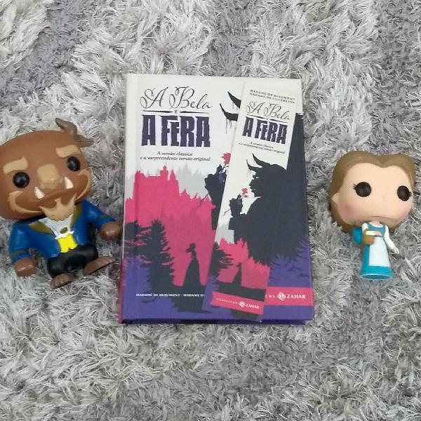 Livro A Bela e a Fera capa dura