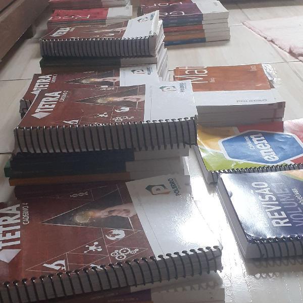 Livros e Apostilas Poliedro |2017/2018/2019|